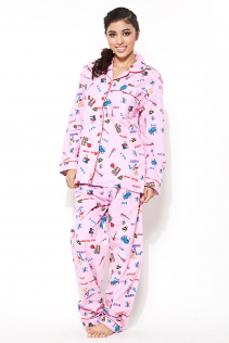 100% COTTON PAJAMAS IN ROCK N ROLL PRINT