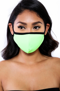 SOCIAL DISTANCING MASK (NEON GREEN)