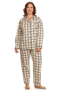 100% COTTON PAJAMAS IN FANCY CHECKER